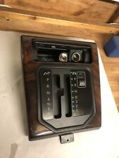 RANGE ROVER P38 Gear Selector Surround With Sport Button & Walnut Surround