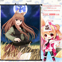 Anime spice and wolf holo Wall Poster Home Decor Scroll Otaku Gift 60*90cm#213