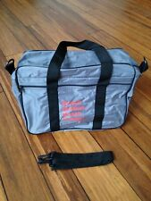 """Vintage 80s Bosch """"Nos"""" advertising bag Ignition Spark plugs Auto parts Racing"""