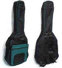 Gig Bag, Gitarrentasche gepolstert 15mm, Western-/Roundback/Akustik, türkis,GB32