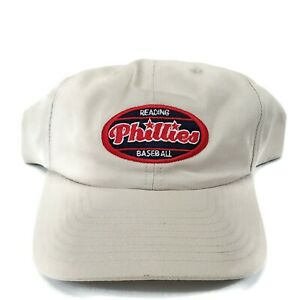 Vtg. Reading Phillies Snapback Hat Cap Constoga Wireless SGA