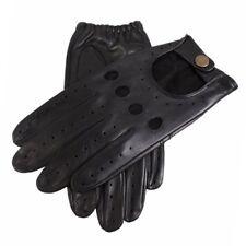 Gants et moufles noirs Dents en cuir pour homme