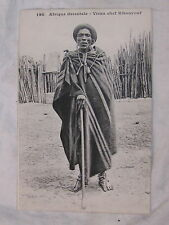 CPA KENYA AFRIQUE ORIENTALE VIEUX CHEF KIKOUYOUF KIKUYU 1900 PORTRAIT COSTUME