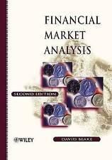 Financial Market Analysis by David Blake (Paperback, 1999)