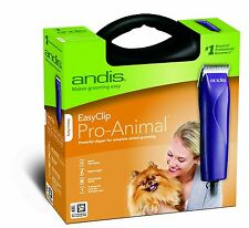NEW Andis Pro-Animal Detachable Ceramic Blade Clipper Kit Dog Pet 10 Blade