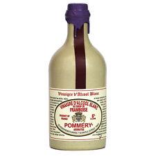 Pommery - French White Alcohol Vinegar (Raspberry Flavored), 50 cl Crock Bottle