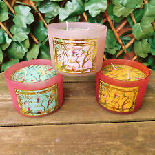 2 Wick Chinoiserie Candle Oriental Birds & Flowers Gift Home Wedding Lily 30hr