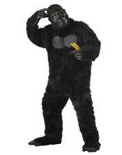 New Best Cheap Adult Gorilla KING KONG Full Suit Costume-Halloween