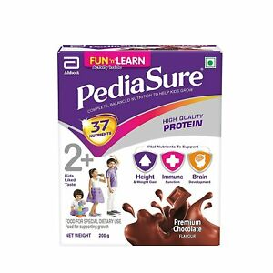 Pediasure Health and Nutrition Drink Powder for Kids Growth (Chocolate) - 200g