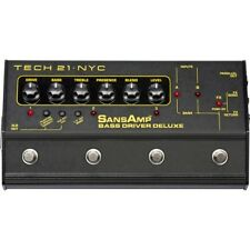 New Tech 21 SansAmp Bass Driver Deluxe Pre-amp/DI Pedal , BSDR-DLX