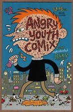 ANGRY YOUTH COMIX #2 underground comic JOHNNY RYAN alternative COOP Fanta 2001