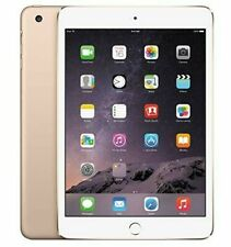 Apple iPad Mini 3 Wi-Fi + Cellular 64GB - Gold - Seller Refurbished