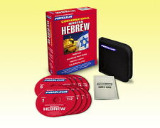 New 8 CD Pimsleur Learn to Speak Hebrew (Modern) Language (16 Lessons)