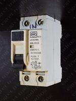 MK LN 6730s 32A 30mA RCD RCCB Circuit Breaker - TESTED