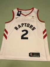Nike Authentics NBA Finals White Swingman  Jersey #2 Kawhi Leonard
