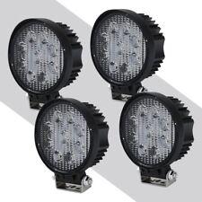 4X 4INCH 27W Round LED WORK LIGHT BAR Spot Flood OFFROAD DRIVING FOG LAMP 12V Y