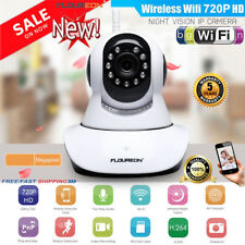 720p HD Wireless WiFi IP Camera Home Shop Security Network CCTV IR Night Vision