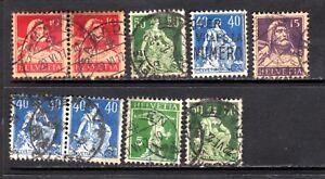 Switzerland selection [1340]