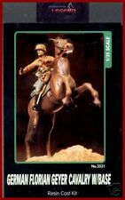 Legend Productions Mounted German Florian Geyer Cavalry W/ Base 1/35 Model kit