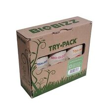 Biobizz bio bizz Try Pack Try-pack Trypack outdoor tris fertilizzanti fertilizer