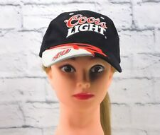 NASCAR STERLING MARLIN #40 Coors Light Embroidered Hook & Loop Strap Hat Cap