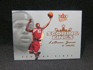 Lebron James 2004 Scoring Kings - 2nd Year Rookie - Insert RARE !!!🔥🔥