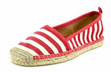 Corso Como MADDY Striped Red Espadrille Flats 7089 Size 10 M NEW!