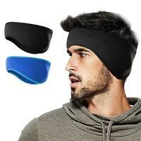 Ear Warmers Cover Headband Winter Warm Headwrap Fleece Ear muffs for Men Women