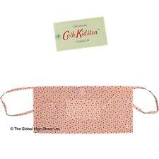 Cath Kidston Mezzo Grembiule Dolly Bianco rosa 100% NUOVO CON ETICHETTA