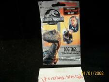 2018 Jurassic World Guaranteed Authentic Costume Relic Dog Tag Tags Hot Pack SP