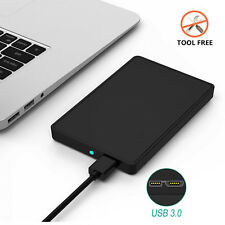 "USB 3.0 HDD SATA External Hard Drive Disk Enclosure Case for 2.5"" SATA HDD & SSD"