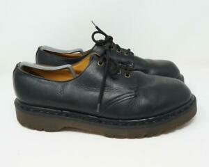 Dr. Martens Bex Oxford Low Top Boots Made in England Leather Black Men's US 11