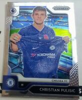 2019-20 Panini Prizm EPL Premier League CHRISTIAN PULISIC First Prizm Card #30