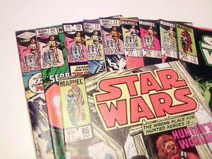 STAR WARS (1977) - lot of ten - Marvel Comics