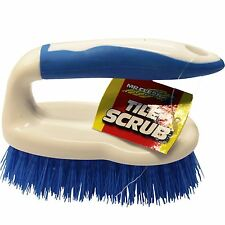 Mr Clean TUFFMATES TILE SCRUB BRUSH MH-1FSB06, Blue & White Bristles USA Brand