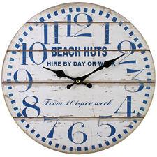 Reloj De Pared estilo Vintage Shabby Chic Playa Cabañas-Nuevo