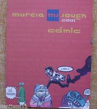 Comic, Murcia Joven (MJ), 2001, concurso, mejores guiones