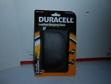 DURACELL LEATHER SMART PHONE CARRYING CASE BLACKBERRY IPHONE ETC MODEL DU9984
