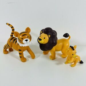 Deagostini My Zoo Animal Collection Figure Lion and Tiger Bundle
