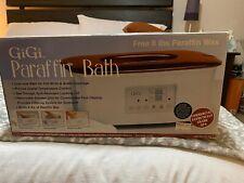 GiGi Digital Paraffin Bath Including GiGi Peach Paraffin Wax (used once)