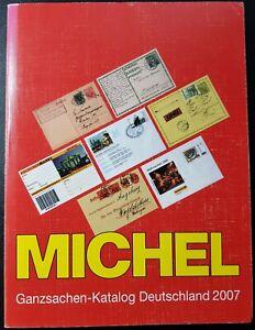 Michel - Ganzsachen-Katalog Deutschland 2007