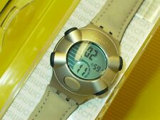 Swatch Irony Beat DOUBLE DOT - YKS4001 in NEU & OVP + neuer Batterie