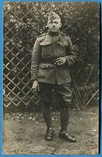 CPA PHOTO: Soldat Belge  / Guerre 14-18