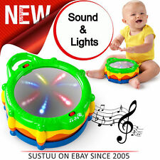 Bright Starts Light & Learn Drum│Baby/Kids Activity Toy With Music│Easy To Clean