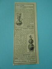 L'eau de Table à 10 centimes la Bouteille Syphon Print AD 1909