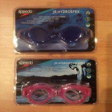 New listing 2 pairs of Speedo Jr. Hydrospex swim goggles. Uv Protection. Nwb
