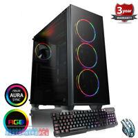 Intel Core I5-9600K 6 core Gaming PC Bundle,SSD 23.6'' RTX 2070 Super 8gb, b1