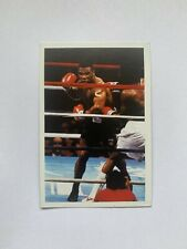 Mike Tyson Rookie Card A Question of Sport Vintage 1980s UK VG EX Ungraded
