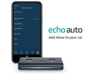 Amazon Echo Auto - Add Alexa to your car Smart Car Speaker with Alexa 2020 Black