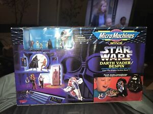 Star Wars Micro Machines Darth Vader/Bespin From Empire Strikes Back 1994 Galoob